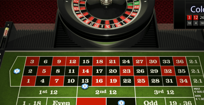 European Online Roulette and the Outside Bets